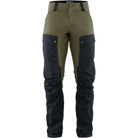 Fjällräven Keb Pantalones Hombre, dark navy/light olive
